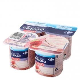 Yogur griego fresa
