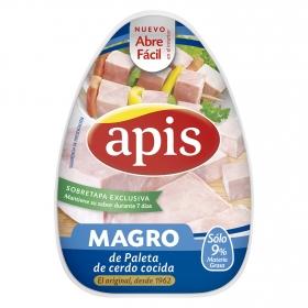 Magro de paleta de cerdo cocido Apis 220 g.