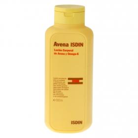 Loción corporal de avena y Omega 3 Isdin 500 ml.