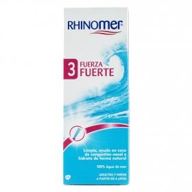 Cuidado de las fosas nasales 3 Fuerza Fuerte Rhinomer 135 ml.