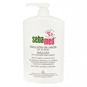 Gel de baño emulsión sin jabón Sebamed 100 ml.