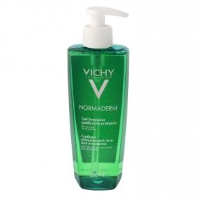 Gel limpiador purificante profundo Normaderm Vichy 200 ml.