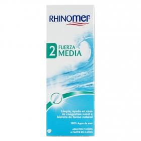 Cuidado de las fosas nasales 2 Fuerza Media Rhinomer 135 ml.