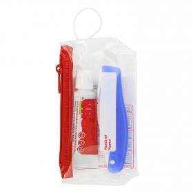 Kit de viaje cepillo de dientes + dentífrico Phb 1 ud.