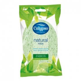 Esponja de baño con fibras naturales
