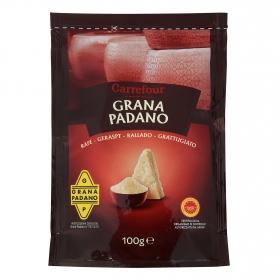 Queso rallado Italiano Grana Padano Carrefour 100 g.