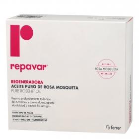 Repavar regeneradora aceite puro de rosa mosqueta Ferrer 15 ml.