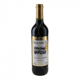 Vino tinto roble Vallarcal 75 cl.