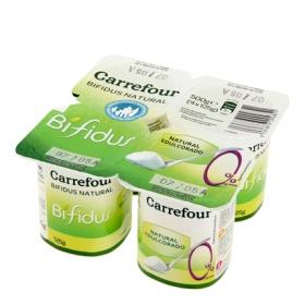 Yogur Bífidus 0%natural edulcorado