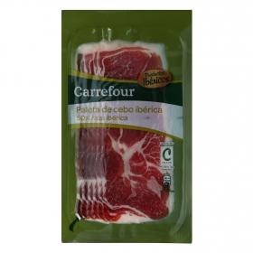 Paleta Ibérica en lonchas Carrefour 100 g.