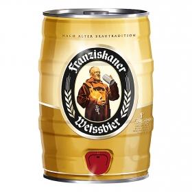 Cerveza Franziskaner Weissbier barril 5 l.