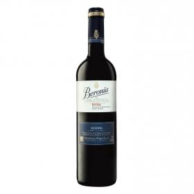 Vino D.O. Rioja tinto reserva Beronia 75 cl.