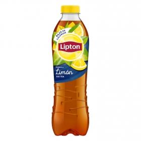 Bebida refrescante de té al limón