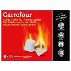 Pack 24 Pastillas de Encendido Parafina sin Olor
