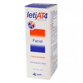 Crema emoliente facial piel atópica y seca AT4