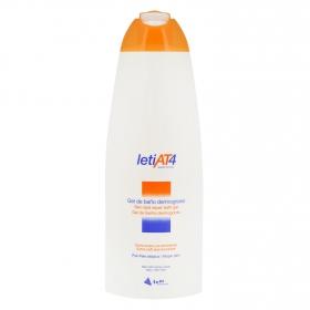 Gel de baño dermograso piel atópica AT4 Leti 750 ml.