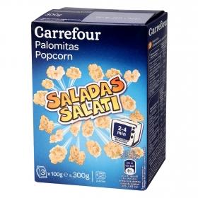 Palomitas para microondas con sal