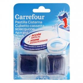 Desodorizante cisterna en pastilla agua Azul