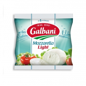 Queso mozzarella Italiana light Galbani 125 g.