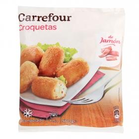 Croquetas de jamón Carrefour 500 g.