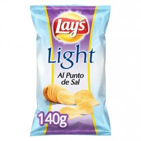 Patatas fritas light Lay's 140 g.
