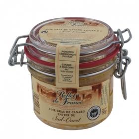 Foie gras de carnard entier refflets de france