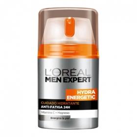 Crema hidratante Anti-Fatiga Hydra Energetic L'Oréal-Men Expert 50 ml.
