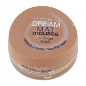 Maquillaje Dream Mat mousse 32 golden Maybelline 1 ud.