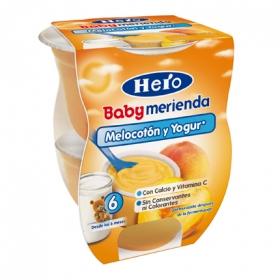 Tarrito melocotón y yogur