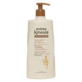 Loción corporal reparadora para pieles secas y sensibles