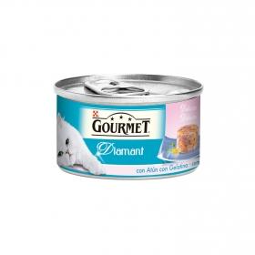 Comida para gatos Finas Láminas con Atún y Gambas
