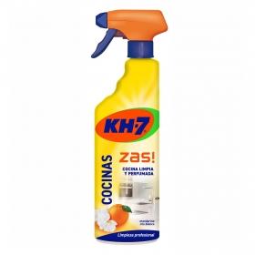 Limpiador multiusos de cocinas aroma limón Zas 750 ml.