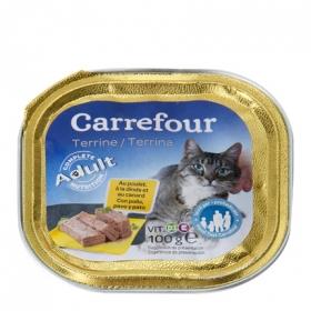 Delicias para gatos de pollo