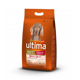Ultima Pienso para Perro Adulto Medium - Maxi Sabor Pollo 3kg.