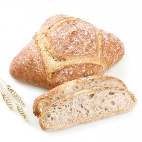 Hogaza de pan ecológica grande Carrefour Bio 800 g aprox