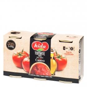 Tomate frito Hida pack de 3 latas de 155 g.
