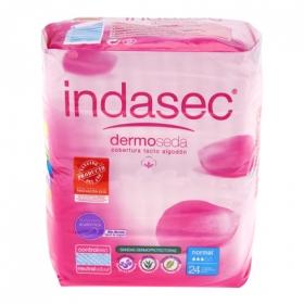 Compresas incontinencia normal Indasec 24 ud.