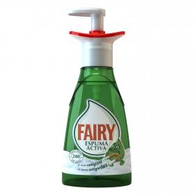 Lavavajillas a mano espuma activa Fairy 375 ml.