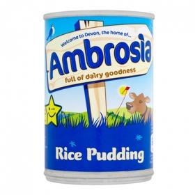 Postre de arroz con leche preparada  Ambrosia 425 g.