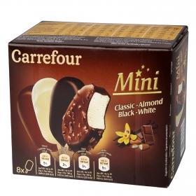 Mini bombón helado Carrefour 8 ud.