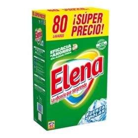 Detergente en polvo Elena 80 cacitos.