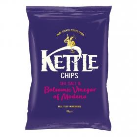 Patatas fritas con sal y vinagre balsámico Kettle 150 g.