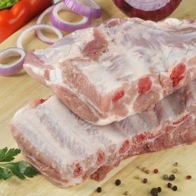 Tira de costillar de cerdo para asar