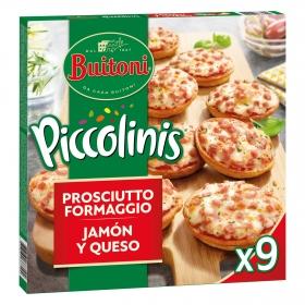 Piccolini Capricciosa, jamón y queso