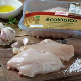 Pechuga de pollo ecológico Coren