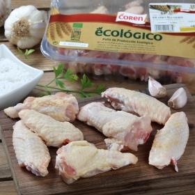 Alas de Pollo Ecológicas Coren 400 g aprox