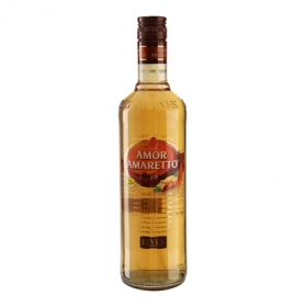 Licor amaretto Rives sin alcohol 70 cl.