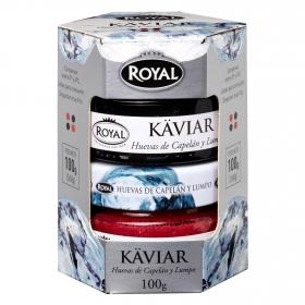 Huevas de Islandia Royal pack de 2 unidades de 50 g.