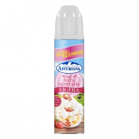 Nata montada ligera Central Lechera Asturiana spray 250 g.