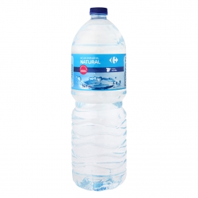 Agua mineral Carrefour natural 2 l.